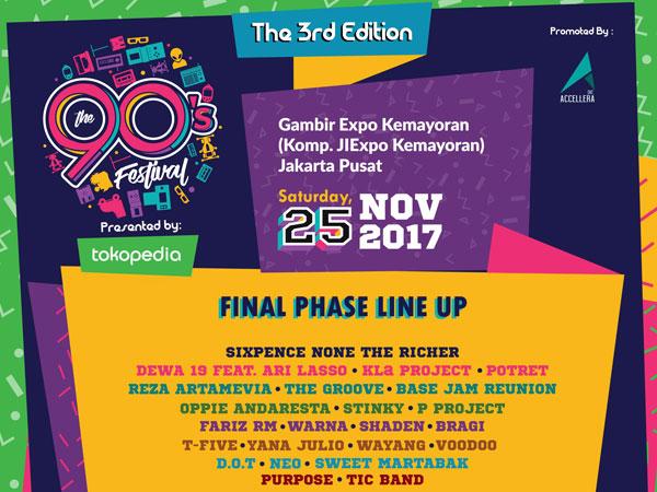 Mainan Nostalgia Era '90-an Hadir di Konser Reuni Musik Terbesar 'The 90's Festival'