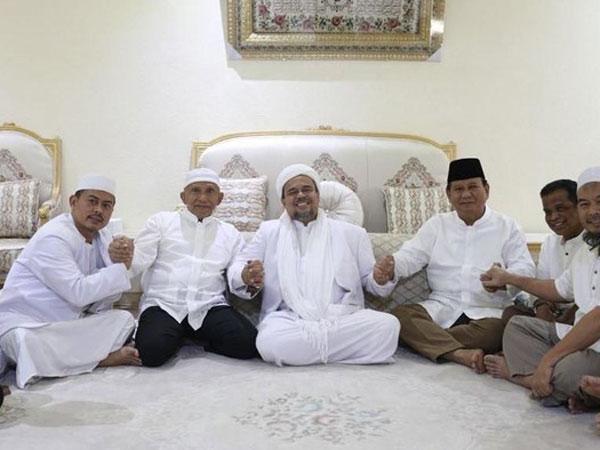 Penjelasan Instagram Soal Hilangnya Foto Prabowo-Amien Rais-Habib Rizieq di Media Sosial