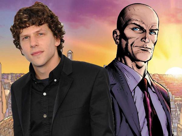 Wow, Jesse Eisenberg Berani Tampil Botak Demi Peran di 'Batman V Superman!