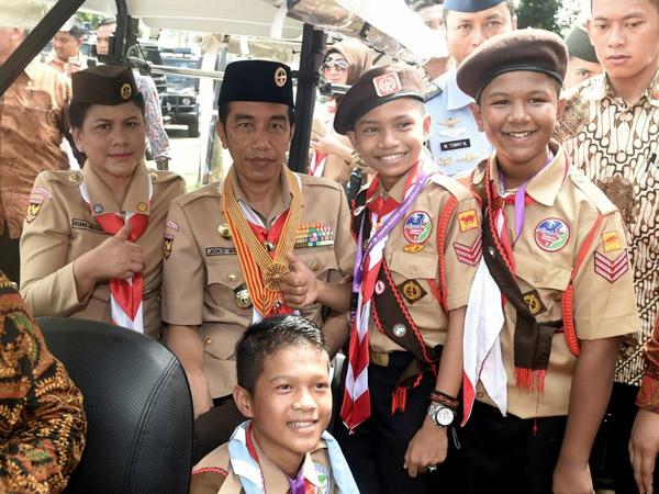 Jokowi Minta Generasi Milenial Dipandu Gunakan Media Sosial di Hari Pramuka, Apa Hubungannya?