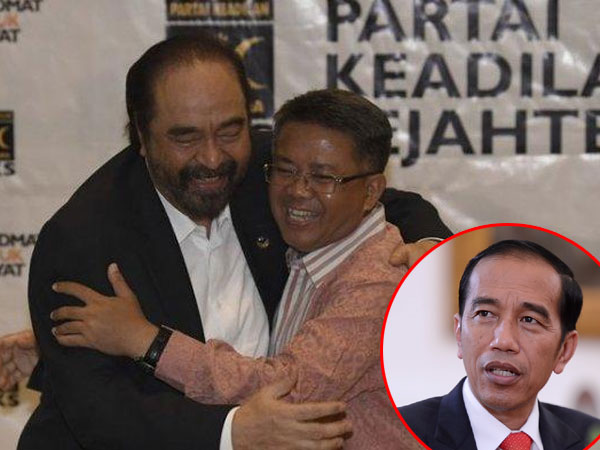 Sindiran Keras Jokowi Soal Chemistry Surya Paloh dan Presiden PKS: Saya Tak Pernah Dirangkul Begitu