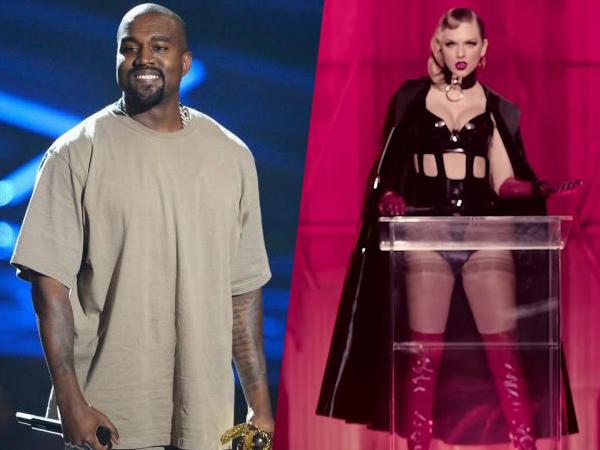 Cara Unik Kanye West Merespon Sindiran Taylor Swift di 'Look What You Made Me Do'
