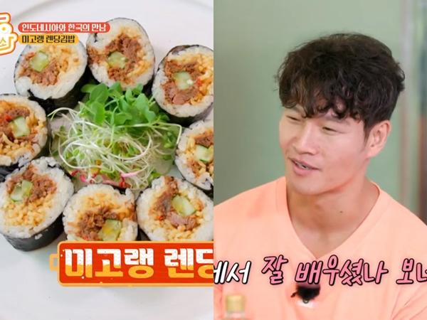 Yuk Bikin Kimbab Rendang Mie Goreng yang Bikin Kim Jong Kook Ketagihan