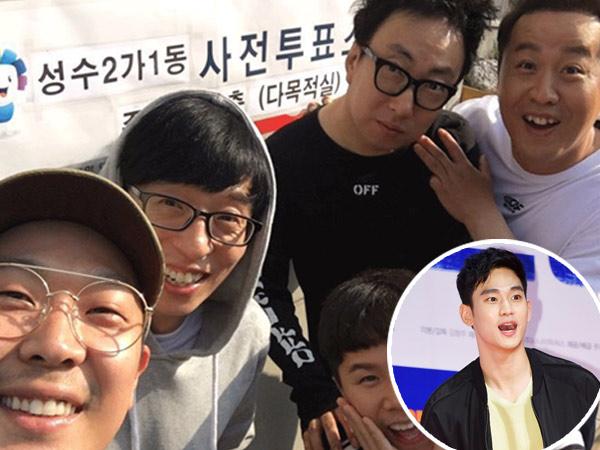 Awalnya Ragu, Ini yang Buat Kim Soo Hyun Mau Tampil di 'Infinity Challenge'