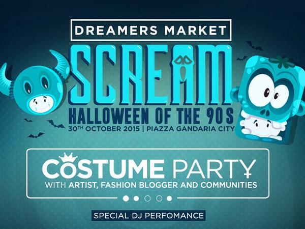 Siapkan Kostum Terbaik Kamu dan Datang Ke Pesta Halloween Paling Seru Tahun ini!