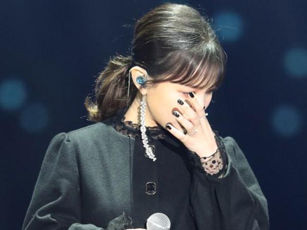 Lee Hi Nangis Nyanyikan Lagu Ciptaan Jonghyun SHINee di Panggung Spesial #GDA2018