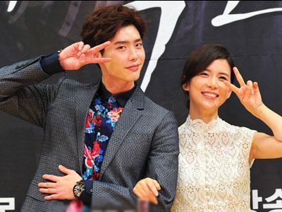 Demi Adegan Ciuman, Lee Bo Young Paksa Lee Jong Suk Stop Merokok