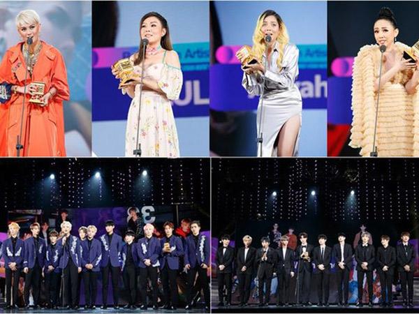 Wanna One Hingga SEVENTEEN Menang Kategori Spesial di 'MAMA 2017' Vietnam!
