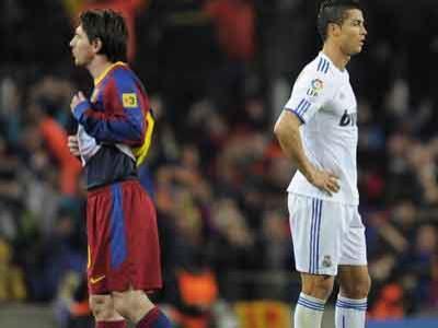 Inilah Bukti Ronaldo dan Messi Bermusuhan
