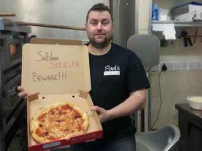 Wow, Inilah Pizza Terpedas Di Dunia