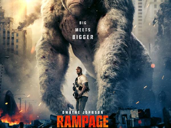 Dwayne Johnson 'Kerja Sama' Dengan Gorila Menyelamatkan Negara di Film 'Rampage'