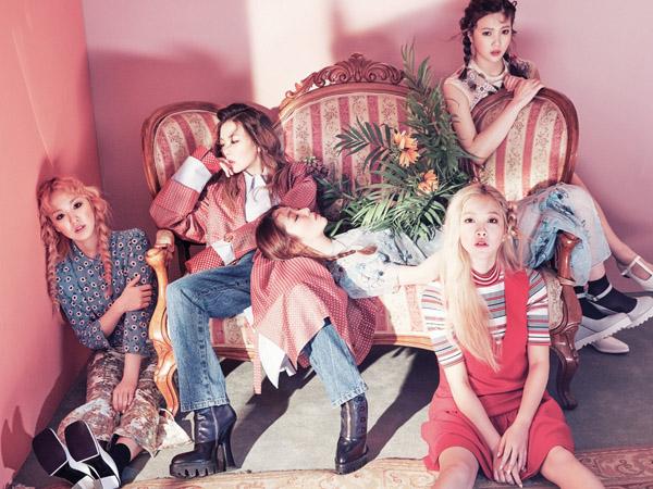 Seru! Red Velvet Tambah Daftar Girl Group yang Siap Comeback di Musim Panas