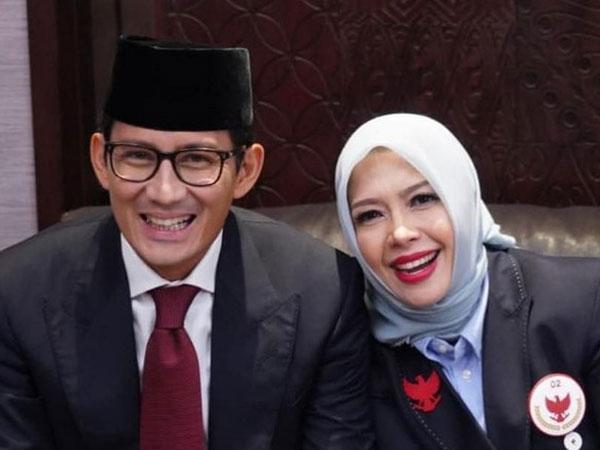 Kebingungan Sandiaga Uno yang Istrinya Diusulkan Maju di Pilwalkot Tangerang Selatan