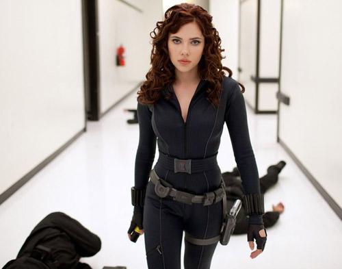 Scarlett Johannson Ekskis Lagi di Iron Man 3 Lho!