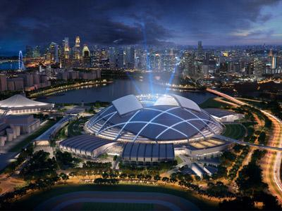 Wah, Singapura Akan Punya Stadion Termegah di Dunia