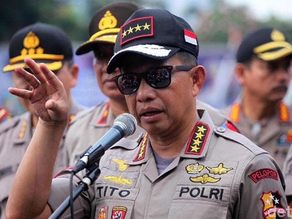 Kapolri Tegaskan Polisi Tak Pernah Sebut Kivlan Zen Dalang Kerusuhan 22 Mei?