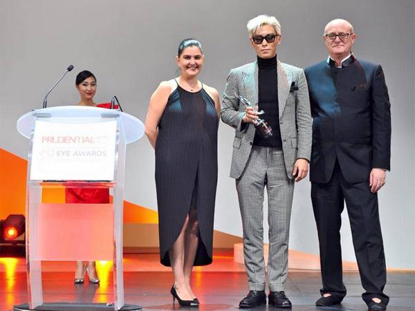 T.O.P Big Bang Raih Penghargaan Atas Talentanya di Bidang Seni Desain Interior