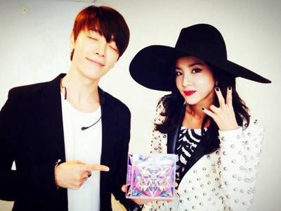 Manisnya Saat Sandara Park 2NE1 dan Donghae SuJu Saling Berikan Dukungan