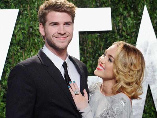 Bertengkar, Hubungan Asmara Miley Cyrus dan Liam Hemsworth Renggang?