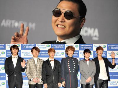 Psy dan Beast Borong Penghargaan di Melon Music Awards 2012