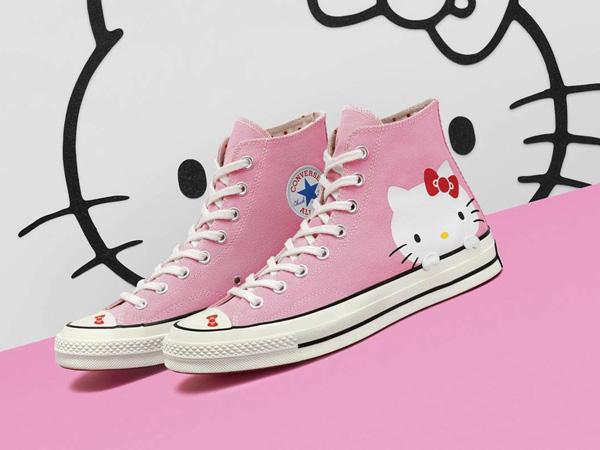 Gemas! Converse Rilis Sneakers Edisi Terbaru Bertema 'Hello Kitty'
