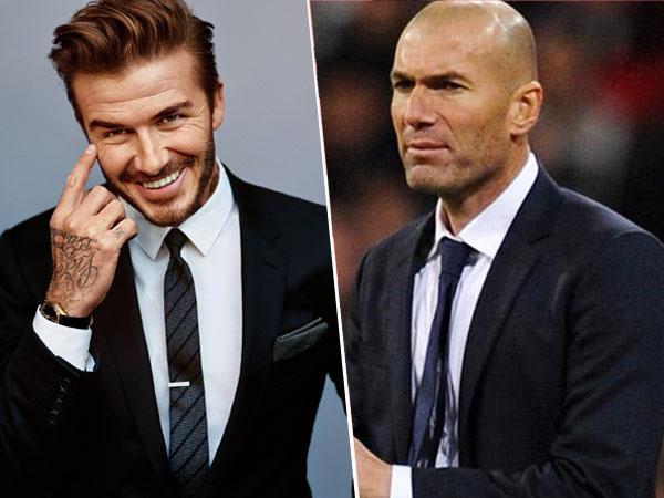 Real Madrid Raih Gelar Juara, David Beckham Ucapkan Selamat ke Zinedine Zidane!