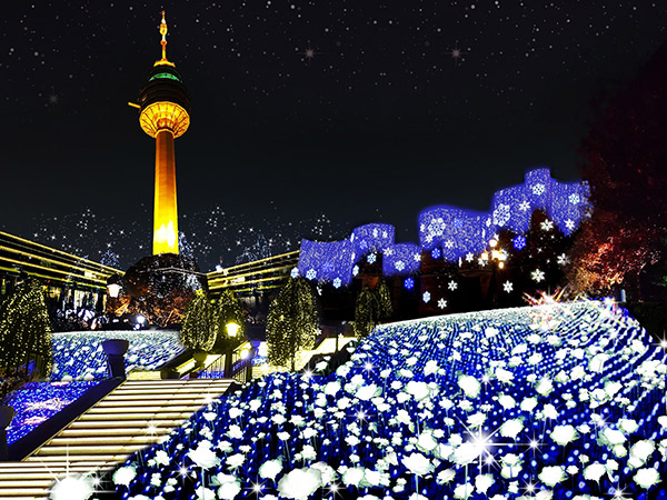 Habiskan Malam Romantis di Festival Cahaya Bintang E-World Daegu