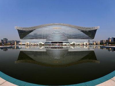 Wow, China Miliki Gedung Terbesar di Dunia