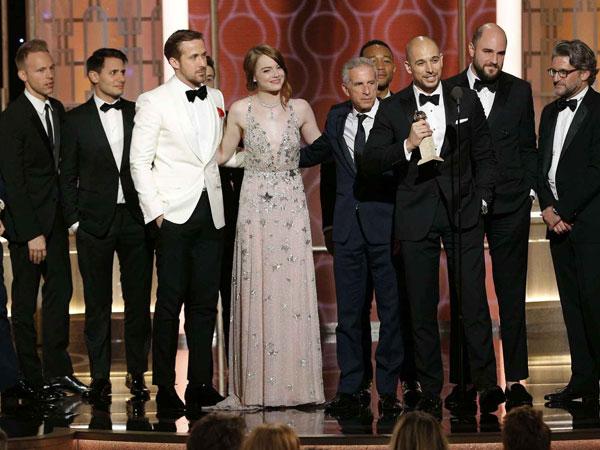 Didominasi 'La La Land', Inilah Daftar Peraih Trofi Penghargaan 'Golden Globes 2017'!