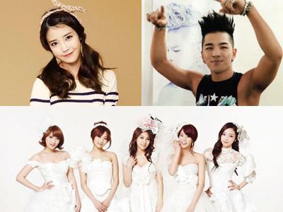 IU, Taeyang Big Bang, Psy, dan KARA Akan Saling Bersaing di Bulan September?