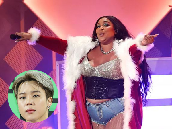 Jadi Viral, Video Lizzo Sebut Jimin BTS di Jingle Ball 2019