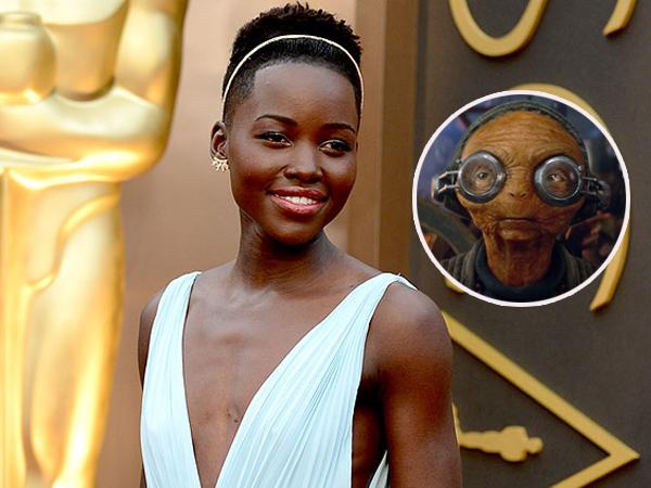 Intip Cara Animator Buat Aktris Oscar Ini Jadi 'Makhluk Aneh' di 'Star Wars: The Force Awakens'