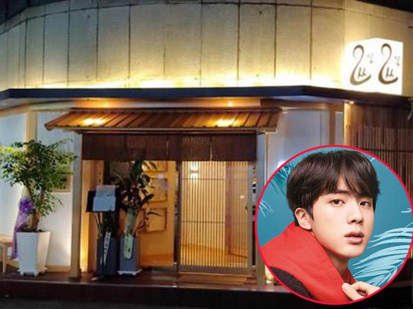 Bersantap Makanan Khas Jepang yang Sehat di Restoran Milik Jin BTS