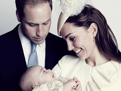 The Royal Family Rilis Foto Terbaru dari Upacara Baptis Pangeran George