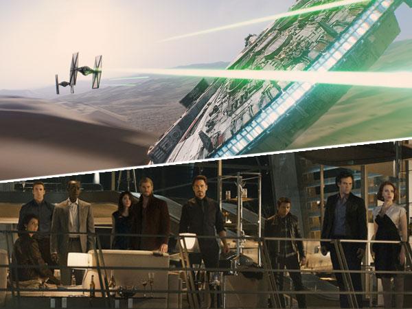 Star Wars vs The Avengers, Mana Film Paling Dinanti di 2015?