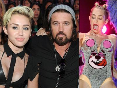 Sang Ayah Tak Permasalahkan Kontroversi Miley Cyrus