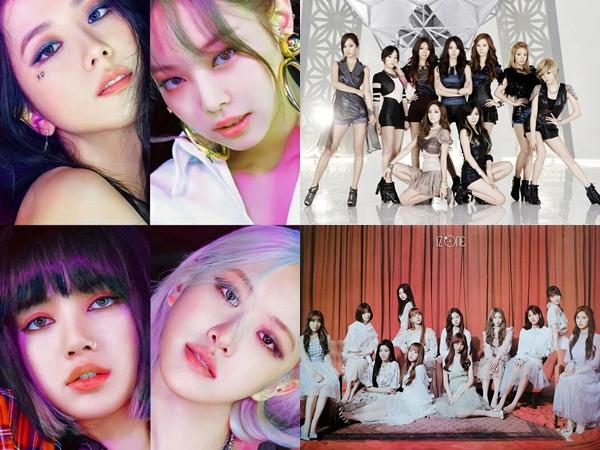 5 Girl Group Dengan Penjualan Album Terlaris di Gaon