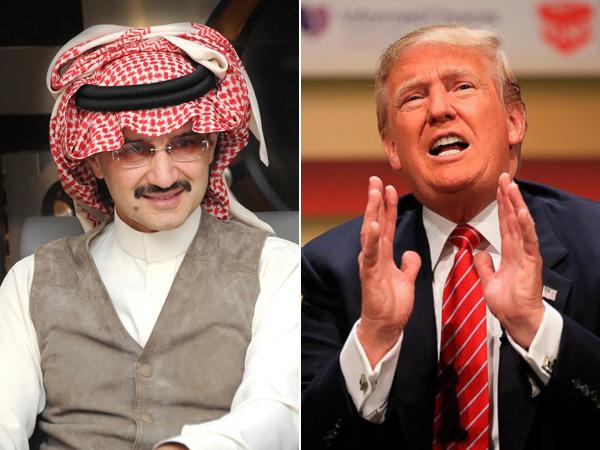 Panas, Pangeran Arab Saudi Twitwar dengan Donald Trump