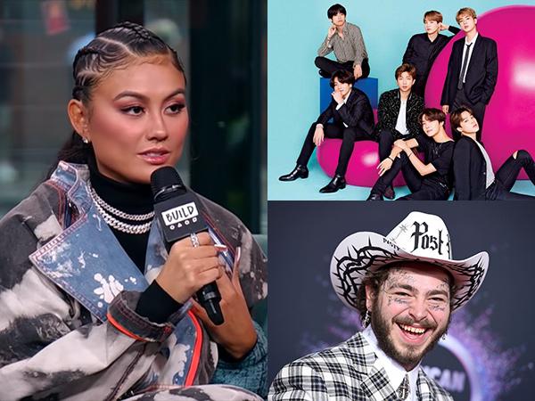 Agnez Mo Sebut BTS dan Post Malone Sebagai Musisi yang Ingin Diajak Kolaborasi
