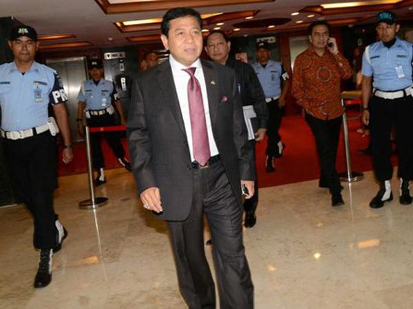 Ini Bunyi Surat Pengunduran Diri Setya Novanto dari Jabatan Ketua DPR RI