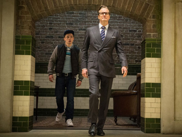 Colin Firth Asuh Anak Berandalan Jadi James Bond Dalam 'Kingsman: The Secret Service'