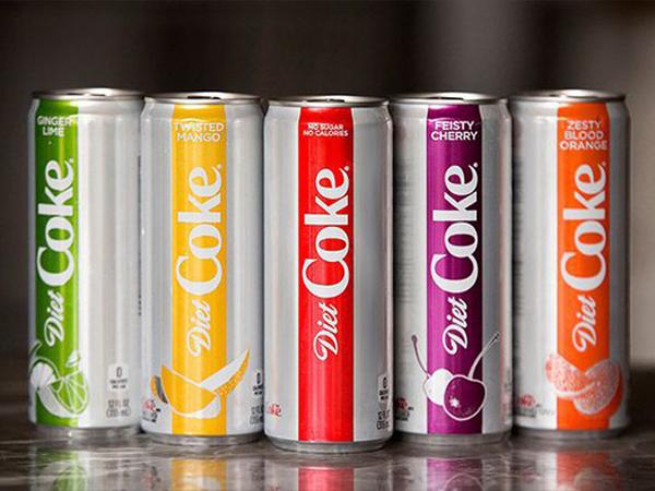 Tampilan Menarik Diet Coke yang Dikhususkan untuk Generasi Milenial