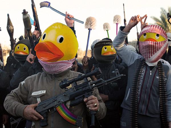 Susul ISIS-Chan, Netizen Lawan Teroris Tanpa Kekerasan Dengan Bebek