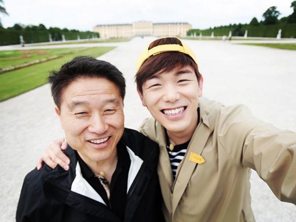 Anaknya Kenakan Pakaian Terlalu Santai Saat Liburan, Ini Tanggapan Lucu Ayah Eric Nam