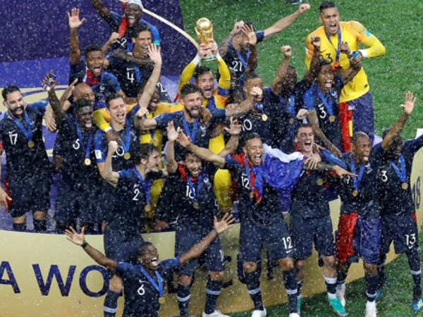Kemenangan Perancis 'Rusak' Siklus Juara Piala Dunia Sejak 20 Tahun Lalu?