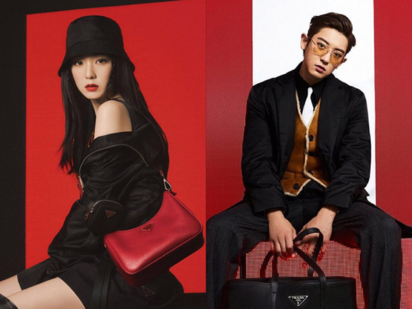 Irene Red Velvet dan Chanyeol EXO Jadi Brand Ambassador Prada