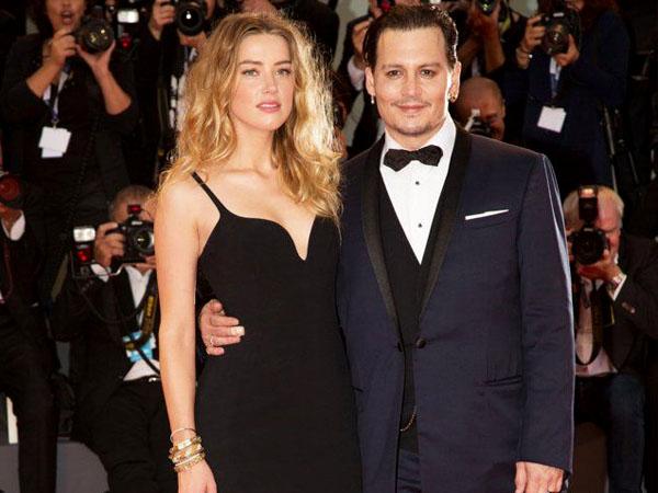 15 Bulan Menikah, Johnny Depp Digugat Cerai Amber Heard!