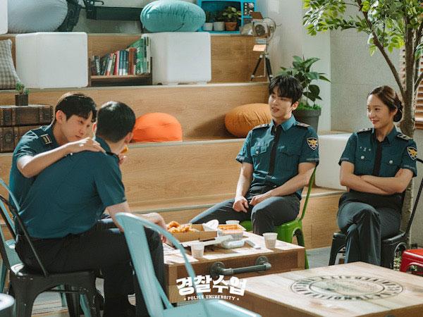 Krystal f(x) Hingga Jinyoung B1A4 Punya Kebiasaan Unik Ini di Lokasi Syuting Police University