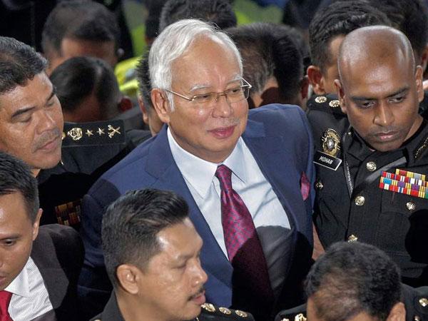 Mantan PM Malaysia Najib Razak Bebas dengan Jaminan Fantastis Miliaran Rupiah!
