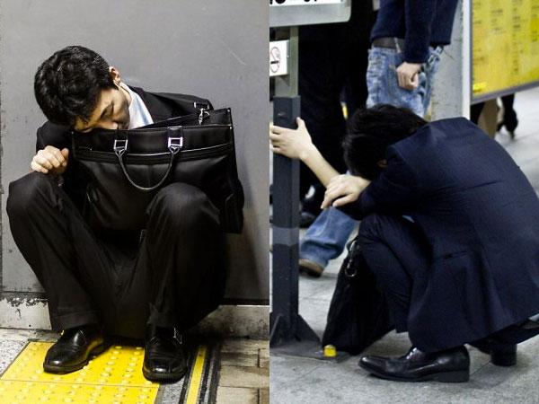Punya Pola Kerja 'Mengerikan', Begini Potret Tragis Pegawai Jepang yang Super Kelelahan!